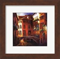 Framed Sunset in Venice