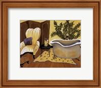 Framed Lemon Bath