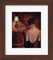 Framed Madamoiselle