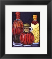 Fancy Oils II Framed Print