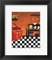 Framed Retro Kitchen IV