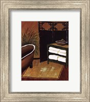 Framed Bamboo Bath