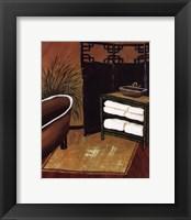 Framed Bamboo Bath