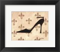 Framed Poussoir Noir