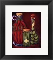 Framed Fancy Oils III