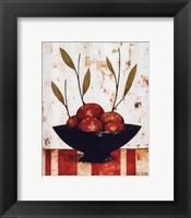 Framed Pommes Rouges