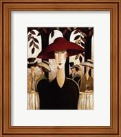 Framed Red Hat