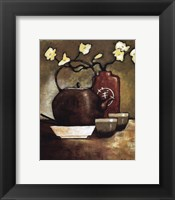 Takara Tea Room Framed Print