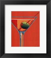 Framed Sunglow Martini I