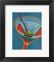 Framed Sunglow Martini II