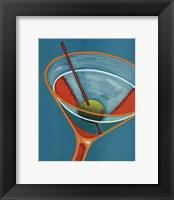 Framed Sunglow Martini II