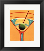 Framed Sunglow Martini III