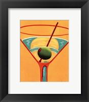 Framed Sunglow Martini III