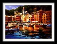 Framed Portofino Colors