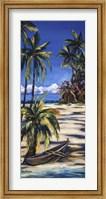 Framed Tropical Retreat I
