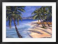 Sugar Beach Framed Print