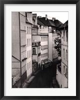 Framed Little Canal, Prague, Czech Republic