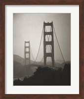 Framed Golden Gate Bridge I