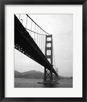 Framed Golden Gate Bridge III