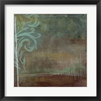 Lush Filigree II Framed Print