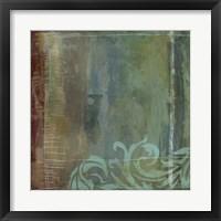 Lush Filigree IV Framed Print