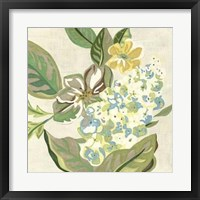 Framed Modern Chintz IV