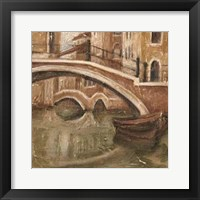 Framed Canal View I