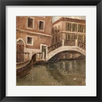Framed Canal View II