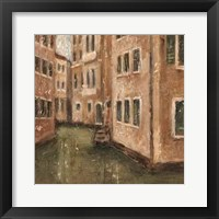 Framed Canal View III