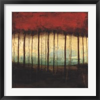 Autumnal Abstract I Framed Print