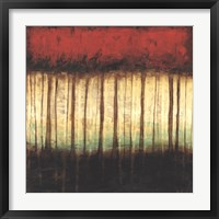Framed Autumnal Abstract II