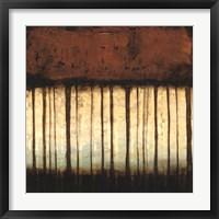 Autumnal Abstract III Framed Print