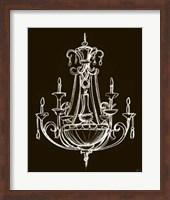 Framed Elegant Chandelier III