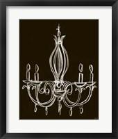 Framed Elegant Chandelier IV