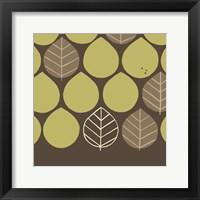 Forest Motif I Framed Print