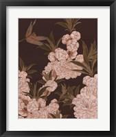 Asian Brocade III Framed Print