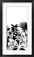 Framed Tropical Silhouette II