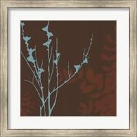 Framed Blue Bough II