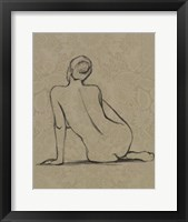 Sophisticated Nude II Framed Print