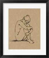 Sophisticated Nude III Framed Print