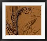 Framed Feathered Impression I