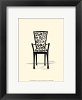 Framed Designer Chair VI
