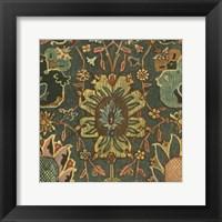 Framed Persian Carpet III