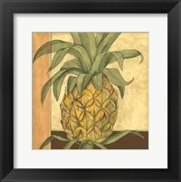 Framed Golden Pineapple II