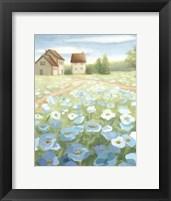 Framed Blue Meadow