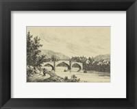 Framed Idyllic Bridge I