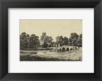 Framed Idyllic Bridge II