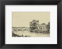 Framed Idyllic Bridge IV