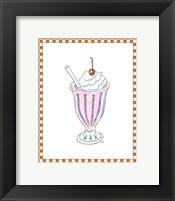 Framed Ice Cream Parlor II