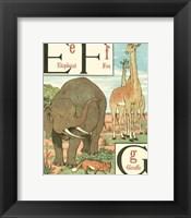 Framed Noah's Alphabet II